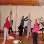 Anleitung Yoga in der Gruppe